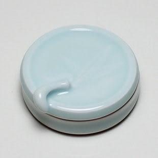 龍泉青瓷 粉盒 印泥盒專用