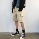 全館83折 夏季牌工裝褲男韓版寬鬆五分褲子流百搭直筒休閒5分短褲男