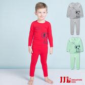 JJLKIDS 男童  寶寶考拉熊棉質居家休閒套裝(3色)