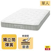 ◆【新竹物流配送】獨立筒彈簧床 床墊 SP-1 單人床墊 NITORI宜得利家居