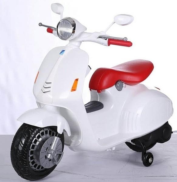 兒童電動車/三輪電動童車~超酷~速克達復古款~生日禮物 週歲禮物 兒童騎乘~幼之圓