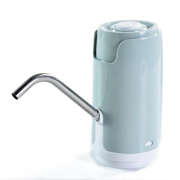 抽水器 美閣 桶裝水抽水器充電飲水機家用電動純凈水桶壓水器自動上水器 MKS霓裳細軟
