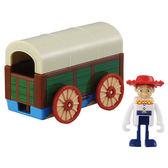 《 TOMICA 》夢幻小汽車 TS4 TS 翠絲&玩具盒 ╭★ JOYBUS玩具百貨