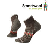 【SmartWool 美國 女款 Phd戶外輕量減震低筒襪《灰褐》】SW001307/排汗襪/保暖襪/抗臭襪★滿額送