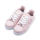 卡娜赫拉 釦飾休閒板鞋 粉 KI8382 女鞋