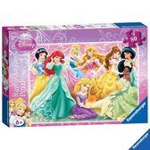 Ravensburger維寶迪士尼80片拼圖-迪士尼公主Disney Princesses