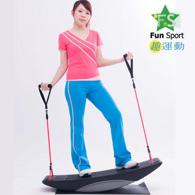【福利品8折】《Fun Sport》大型韻律板(送底墊)/翹翹板/彈力繩