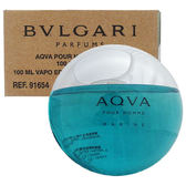 BVLGARI 寶格麗 活力海洋能量男性淡香水100ml  Tester環保包裝 16540《Belle倍莉小舖》