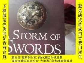 二手書博民逛書店A罕見STORM OF SWORDS 2:BLOOD AND G
