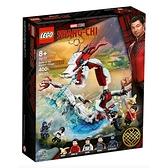 Lego 樂高 MARVEL SUPER HEROES系列 Battle at the Ancient Village_ LG76177