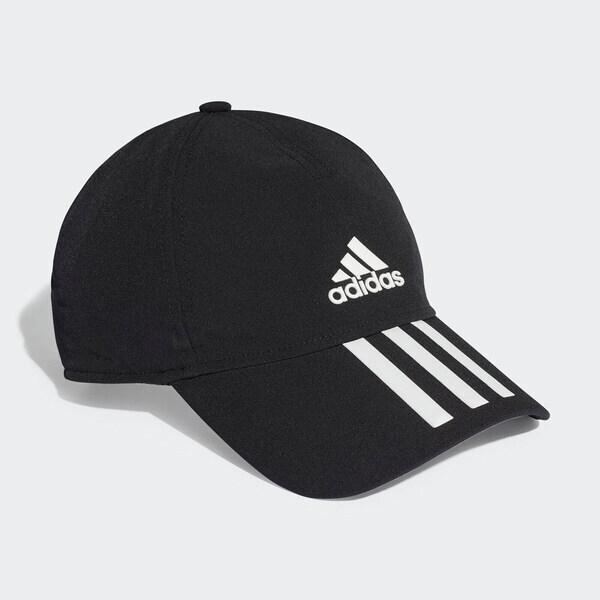 Adidas BB C 3S 4a A.R. [FK0882] 棒球帽 鴨舌帽 吸濕 乾爽 防曬 運動 跑步 休閒 黑