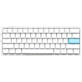 Ducky 2061ST ONE2 Mini 機械式鍵盤 白帽 白蓋 PBT二色成形不破孔 茶軸中文/紅軸英文