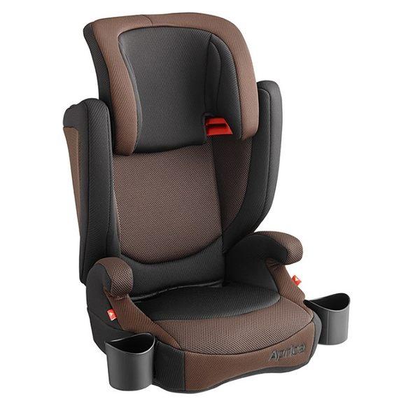 Aprica愛普力卡 - Air Ride 成長型輔助汽車安全座椅(汽座) -棕橫海 4425元 【不可超取】