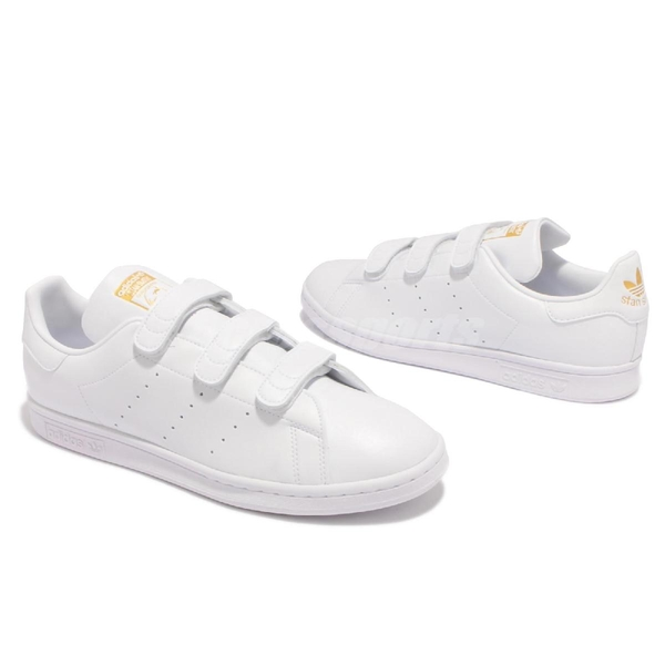 adidas 休閒鞋 Stan Smith CF 白 金 男鞋 女鞋 三葉草 小白鞋 愛迪達 【ACS】 FX5508