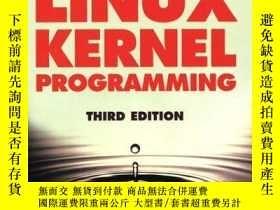 二手書博民逛書店Linux罕見Kernel Programming (3rd Edition)Y256260 Michael