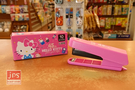 Hello Kitty 凱蒂貓 45週年 盒裝釘書機 桃 KRT-211916