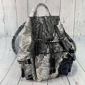 BRAND楓月 BURBERRY 巴寶麗 黑白刷色 尼龍材質 後背包 大容量 學生書包 肩背包 大容量