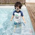 兒童泳衣 男童ins分體防曬速干游泳衣寶寶大童男孩海邊沙灘褲溫泉泳裝涼感-快速出貨