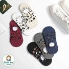 【正韓直送】韓國襪子 豹紋造型隱形襪 短...