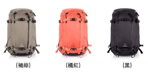 美國 F-STOP 山岳系列 Ajna  40L  黑色 AFSP007K / 橘紅 AFSP007N  / 褐綠 AFSP007G