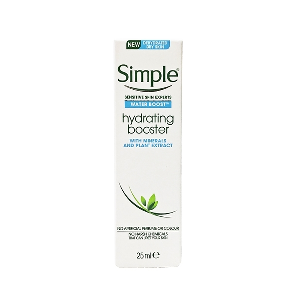 英國進口 Simple 補水保濕精華 25ml (Water Boost Hydrating Booster)