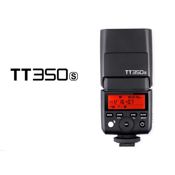 黑熊館 GODOX 神牛 TT350S TTL機頂閃光燈 SONY 2.4G無線 TT350 閃光燈