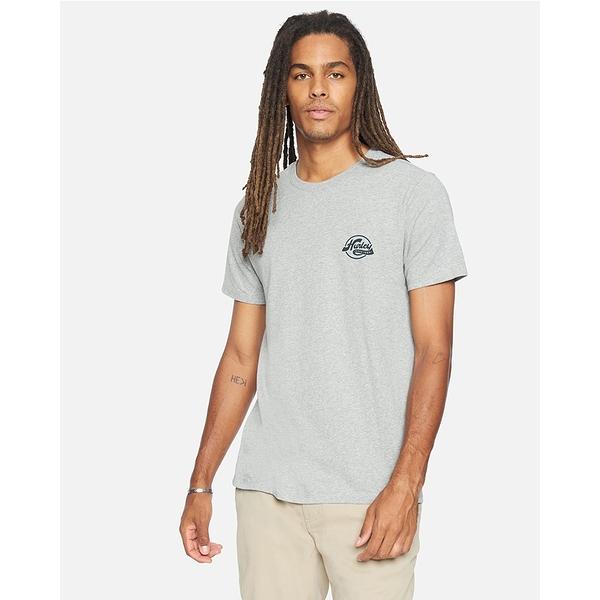 Hurley M REC SERVICE SCRIPT SS T恤-灰