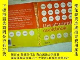 二手書博民逛書店THE罕見STUDENT COOKBOOK .Y180897