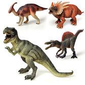 兒童玩具恐龍模型仿真靜態搪膠霸王龍棘背龍侏羅紀白垩紀玩偶 動物模型 恐龍玩具 兒童玩具