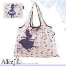 AJ日本空運 迪士尼愛麗絲2WAY購物袋...
