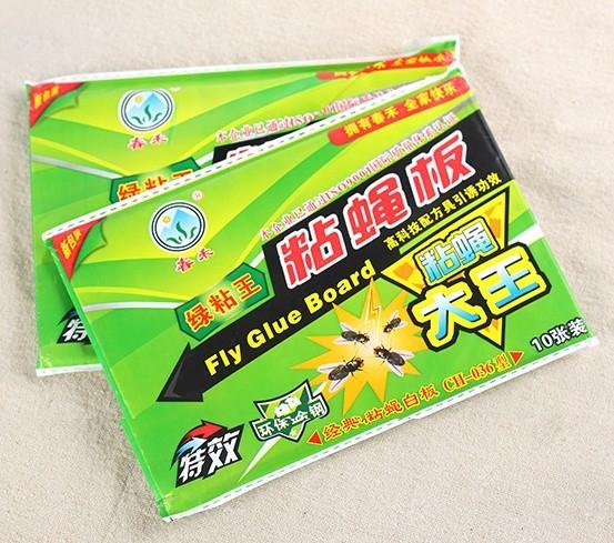 [10片裝] 黏蠅板 蒼蠅貼 滅蠅紙 環保無害 (隨機款) 59元