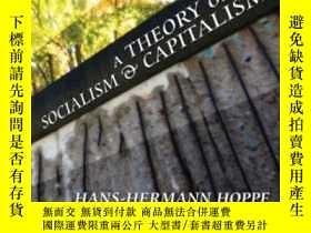 二手書博民逛書店A罕見Theory Of Socialism And CapitalismY364682 Hans-herma