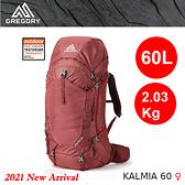【速捷戶外】美國GREGORY 137242 KALMIA 60 女款 全新設計透氣登山大背包(波爾多紅),登山健行,背包客