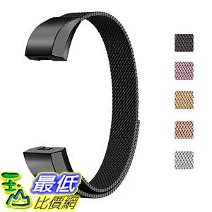 錶帶 BBSUYOS Replacement Bands Compatible for Fitbit Alta HR Milanese Loop Metal Bands 尺寸L