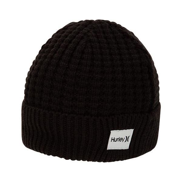 Hurley  M SIERRA BEANIE BLACK  毛線帽-(男/女)