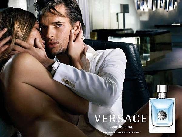 VERSACE 凡賽斯 Pour Homme 經典男性 淡香水 50ML◐香水綁馬尾◐