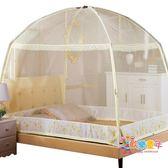 蚊帳 蚊帳1.5m床1.8m2米雙人家用單人學生宿舍1.2米支架紋賬加密T 多款可選