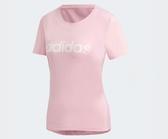 Adidas Design 2 Move Logo Tee 女款粉紅短T-NO.DU2081