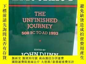 二手書博民逛書店Democracy:罕見The Unfinished Journ
