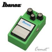 【破音效果器】【Ibanez Tube Screamer TS9】【原廠公司貨】【經典單顆】【Ibanez TS9】