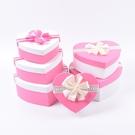 萬聖節禮盒粉色包裝盒心形禮物盒節日禮盒套盒星星愛心禮品盒
