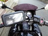 gps qc後視鏡導航座機車手機架子摩托車手機座機車手機夾防水盒摩托車導航架子機車導航座