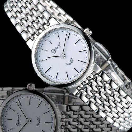 Ogival 愛其華薄型簡約仕女腕錶 385021L
