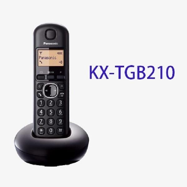 【南紡購物中心】Panasonic 國際 KX-TGB210 數位無線電話機