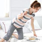 夏季韓版睡衣女夏純棉短袖清新學生夏天女