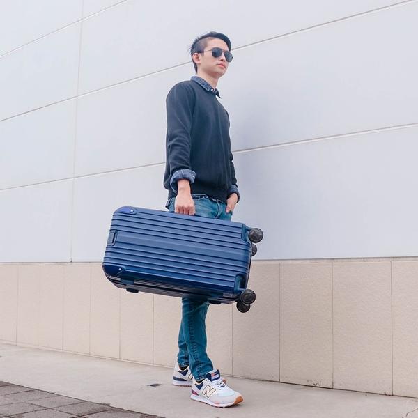 奧莉薇閣 23.5吋行李箱PC消光Sport運動版小胖箱 行李箱