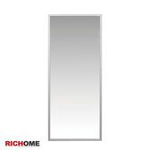 【RICHOME】MR102《小里恩時尚鋁框壁鏡》壁鏡/立鏡/桌上鏡/穿衣鏡/鏡子/掛鏡/玄關