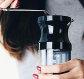 磨豆機 咖啡豆研磨機手磨咖啡機 磨豆機手動 手搖家用 全身水洗便攜【快速出貨八折特惠】