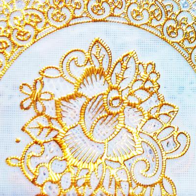 日式居家 巧易收立體浮雕正方桌巾(137×137) /BJ7474/防水桌布/鋪布鋪墊/桌巾布/花邊布