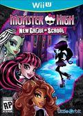 WiiU Monster High New Ghoul in School 魔物最棒:新食屍鬼的學校(美版代購)